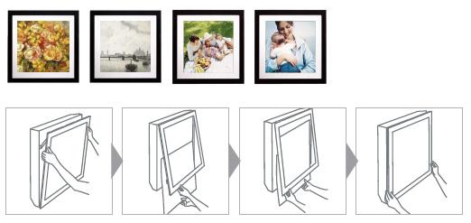 Výmena fotografií v systéme ART COOL je jednoduchá